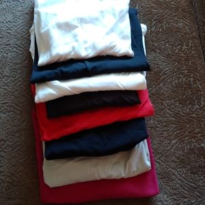 Avenue Tops - STACK OF CAMISOLE TOPS (8) VARIOUS COLORS - 26/28